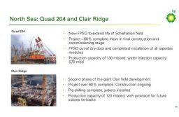 BP планирует удвоить добычу нефти в Великобритании
