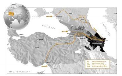 Казахстан возобновил экспорт нефти через Азербайджан