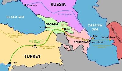 Bakı-Tbilisi-Ərzurum kəməri ilə 2 mlrd. m3-dən çox təbii qaz ötürülüb