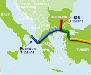 София готовится к строительству газопровода для приема азербайджанского газа