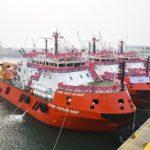 LUKoil ввел в эксплуатацию три судна для работы на шельфе Каспия