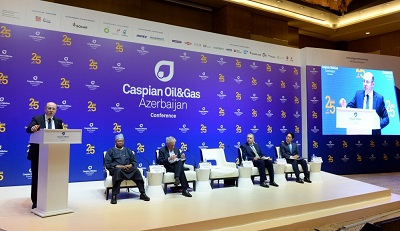 """Bakıda XXV Beynəlxalq """"Caspian Oil and Gas"""" konfransı işə başlayıb"""