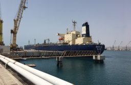 First 50ml gasoil tanker Berthed at Chabahar port