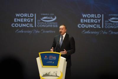 Ильхам Алиев: Энергетические проекты, реализуемые Азербайджаном и Турцией, имеют большое значение для мира