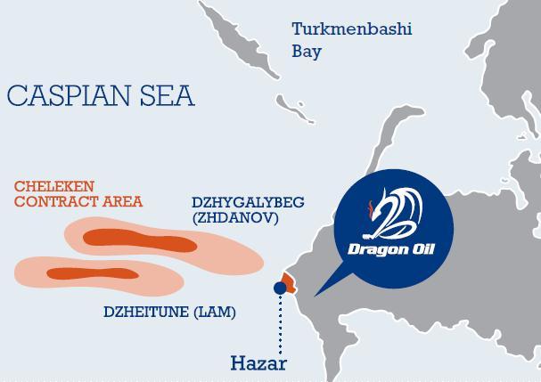 Добывающая нефть в Туркменистане Dragon Oil собирается купить