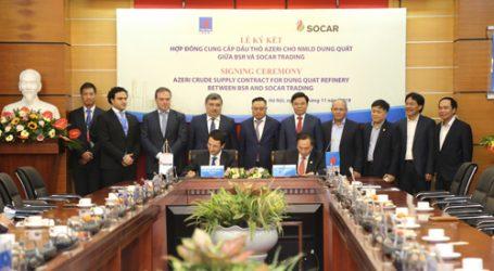 SOCAR поставит 5 млн баррелей нефти на вьетнамский НПЗ