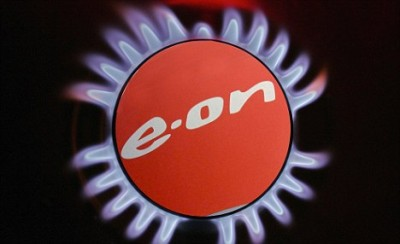 A gas ring on a domestic stove powered by natural gas is seen al