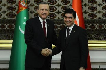 Erdogan invited Turkmen president to open TANAP gas pipeline