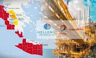 Exxon, Total и HELPE выиграли тендер на Крите