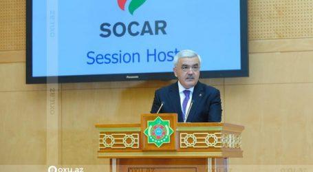 SOCAR prezidenti Türkmənistanda keçirilən beynəlxalq forumda çıxış edib