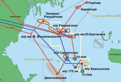 LUKoil Filanovski yatağının inkişafına 70 milyard rubl sərmayə yatıracaq