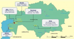 Roxi Petroleum started drilling in Central Kazakhstan