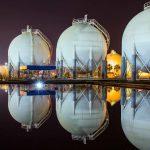 Спотовая цена газа в Европе стремится в $50/тыс. куб. м.