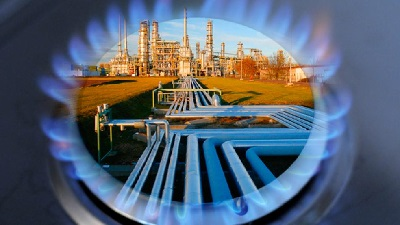 Азербайджан в 2018г импортировал из России 0,8 млрд m3 газа