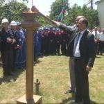 Ağdaş və Oğuz rayonlarının 3 kəndinə təbii qaz verilib