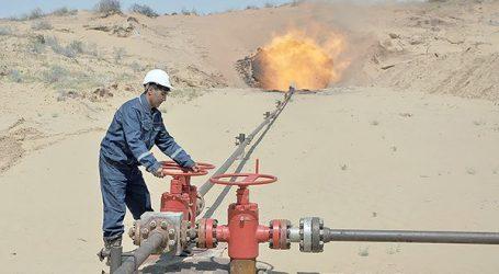 Промышленный приток газа получен на очередной скважине месторождения Галкыныш