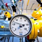 What is the price of gas exported by Azerbaijan?