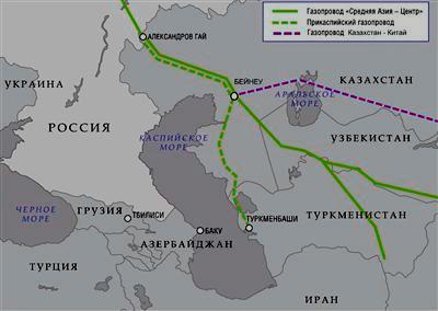"""2015-ci ildə """"Qazprom"""" Mərkəzi Asiya qazının idxalını kəskin azaldacaq"""