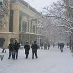 Cold weather causes problems for Baku and Absheron