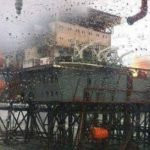 SOCAR not in a hurry to extinguish fire on platform for ecological issues