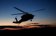Xəzərdə İran neft şirkətinə məxsus helikopter qəzaya uğrayıb