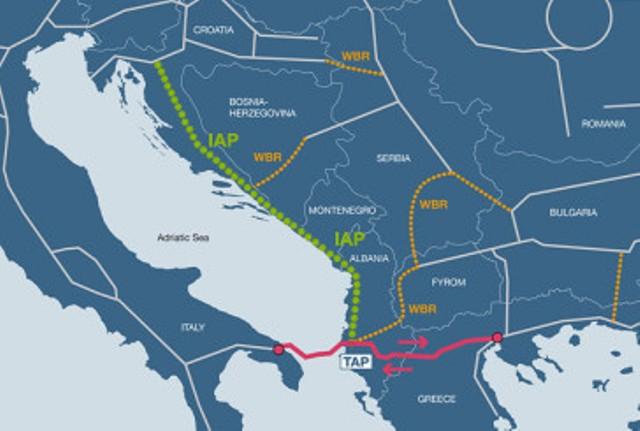 İonik-Adriatik Boru Kəmərinin layihələndirilməsi üçün yeni şirkət təsis ediləcək