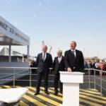 """Состоялась церемония отправки в море опорного блока платформы в рамках """"Шахдениз-2"""""""