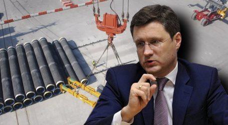 Новак назвал сроки окончания строительства «Северного потока-2»