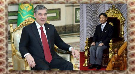 Президент Туркменистана поздравил императора Японии с успехом совместного энергетического проекта