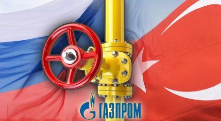 Gazprom Increased Gas Supplies by 53% to Turkey