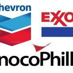 S&P downgrades ratings of Chevron, Exxon, ConocoPhillips