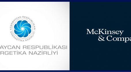 """Energetika Nazirliyi """"McKinsey&Company"""" şirkəti ilə müqavilə imzaladı"""