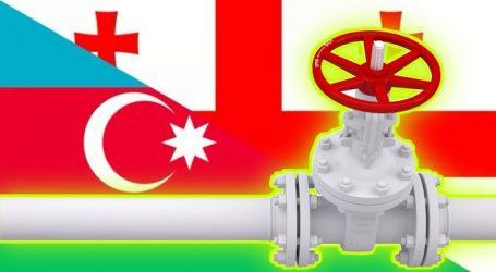 Экспорт газа из Азербайджана в Грузию сократился