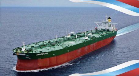 Крупнейший нефтяной танкер Венесуэлы перешел под флаг России