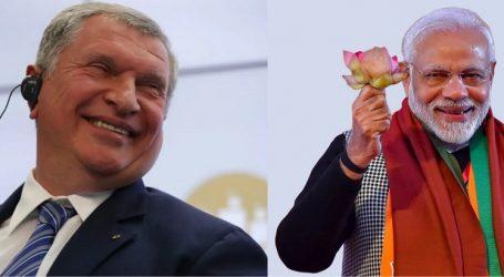 Сечин рассказал о перспективах партнерства с Индией
