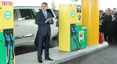 На бирже Узбекистана впервые появился туркменский бензин ECO-93