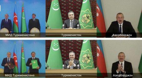 Turkmenistan and Azerbaijan will jointly develop the Dostluk field in the Caspian