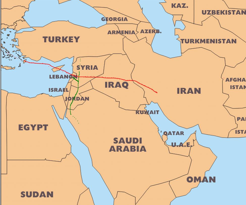 New gas pipeline to connect iran and iraq caspian barrel iran iraq2 gumiabroncs Images