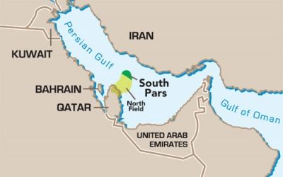 Иран намерен обогнать Катар по объемам добычи газа