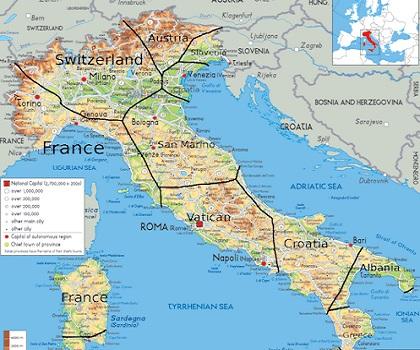 Газовая катастрофа — Италия без российского газа