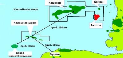 Инвестиции в месторождение Каламкас-море оцениваются в $70 млрд