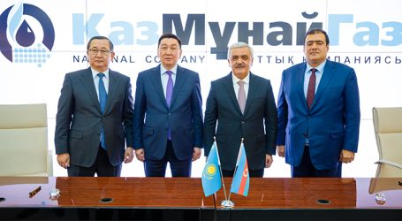 SOCAR and KazMunayGas Daughters Sign and Agree