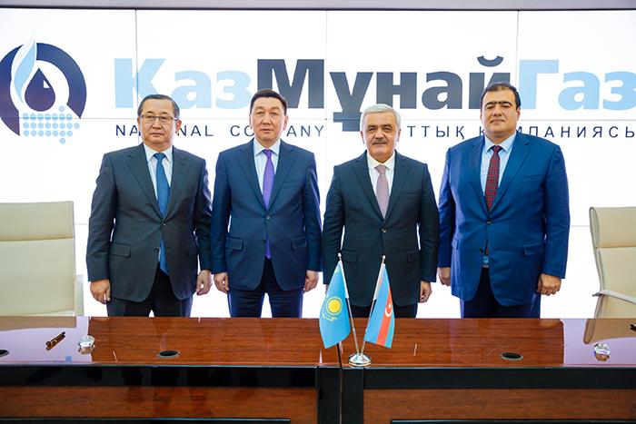 SOCAR and KazMunayGas Daughters Sign and Agree – Caspian Barrel