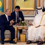 Two documents in gas chemistry signed during Nazarbayev's visit to the UAE