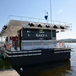 On the Dnieper River started filling ships SOCAR