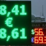 Fears for Russian rouble as plunging oil price dents markets