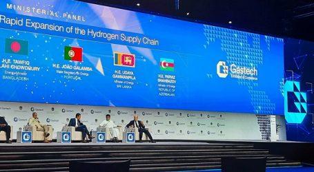 "Azerbaijani energy minister attends ""Gastech 2021"" in Dubai"