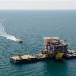 Lukoil completes installation of wellhead platform topside at Korchagin field