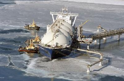 Структура экспорта сжиженного газа из России
