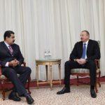 Əliyev və Maduro dünyada neft qiymətlərinin stabilləşdirilməsindən söhbət açdılar